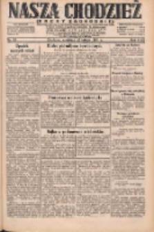 Nasza Chodzież: dziennik poświęcony obronie interesów narodowych na zachodnich ziemiach Polski 1931.02.22 R.9(2) Nr43