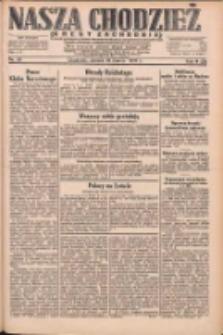 Nasza Chodzież: dziennik poświęcony obronie interesów narodowych na zachodnich ziemiach Polski 1931.03.10 R.9(2) Nr56