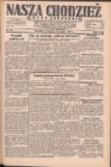 Nasza Chodzież: dziennik poświęcony obronie interesów narodowych na zachodnich ziemiach Polski 1931.03.12 R.9(2) Nr58