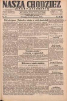 Nasza Chodzież: dziennik poświęcony obronie interesów narodowych na zachodnich ziemiach Polski 1931.03.31 R.9(2) Nr74