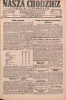 Nasza Chodzież: dziennik poświęcony obronie interesów narodowych na zachodnich ziemiach Polski 1931.04.01 R.9(2) Nr75