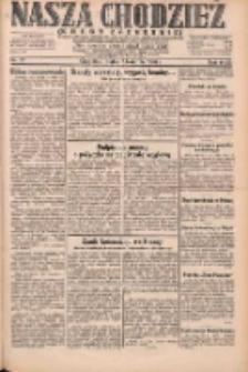 Nasza Chodzież: dziennik poświęcony obronie interesów narodowych na zachodnich ziemiach Polski 1931.04.03 R.9(2) Nr77