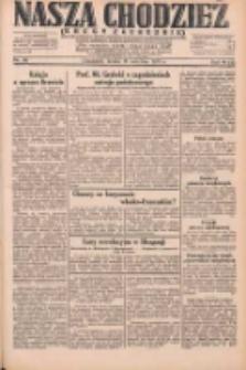 Nasza Chodzież: dziennik poświęcony obronie interesów narodowych na zachodnich ziemiach Polski 1931.04.15 R.9(2) Nr86