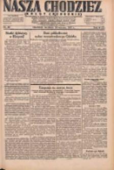 Nasza Chodzież: dziennik poświęcony obronie interesów narodowych na zachodnich ziemiach Polski 1931.04.19 R.9(2) Nr90