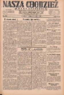Nasza Chodzież: dziennik poświęcony obronie interesów narodowych na zachodnich ziemiach Polski 1931.05.03 R.9(2) Nr102