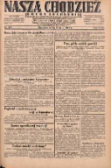 Nasza Chodzież: dziennik poświęcony obronie interesów narodowych na zachodnich ziemiach Polski 1931.05.06 R.9(2) Nr104
