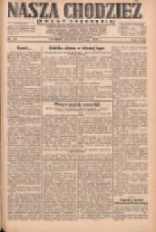 Nasza Chodzież: dziennik poświęcony obronie interesów narodowych na zachodnich ziemiach Polski 1931.05.14 R.9(2) Nr111