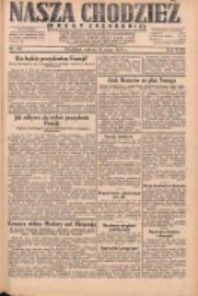 Nasza Chodzież: dziennik poświęcony obronie interesów narodowych na zachodnich ziemiach Polski 1931.05.16 R.9(2) Nr112