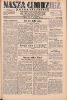 Nasza Chodzież: dziennik poświęcony obronie interesów narodowych na zachodnich ziemiach Polski 1931.05.23 R.9(2) Nr118