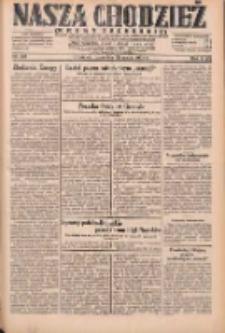 Nasza Chodzież: dziennik poświęcony obronie interesów narodowych na zachodnich ziemiach Polski 1931.05.28 R.9(2) Nr121