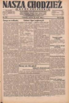 Nasza Chodzież: dziennik poświęcony obronie interesów narodowych na zachodnich ziemiach Polski 1931.05.30 R.9(2) Nr123