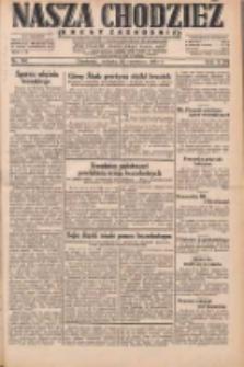 Nasza Chodzież: dziennik poświęcony obronie interesów narodowych na zachodnich ziemiach Polski 1931.06.20 R.9(2) Nr140