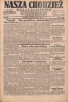 Nasza Chodzież: dziennik poświęcony obronie interesów narodowych na zachodnich ziemiach Polski 1931.07.18 R.9(2) Nr163