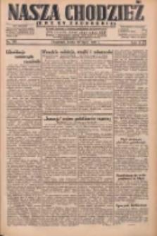 Nasza Chodzież: dziennik poświęcony obronie interesów narodowych na zachodnich ziemiach Polski 1931.07.22 R.9(2) Nr166
