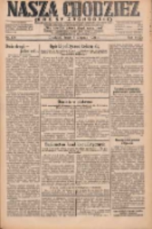Nasza Chodzież: dziennik poświęcony obronie interesów narodowych na zachodnich ziemiach Polski 1931.08.05 R.9(2) Nr178