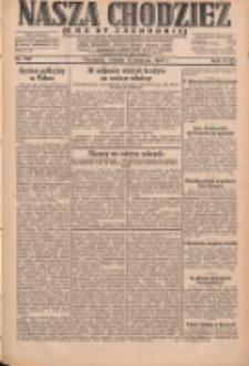 Nasza Chodzież: dziennik poświęcony obronie interesów narodowych na zachodnich ziemiach Polski 1931.08.11 R.9(2) Nr183
