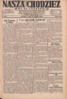 Nasza Chodzież: dziennik poświęcony obronie interesów narodowych na zachodnich ziemiach Polski 1931.08.19 R.9(2) Nr189