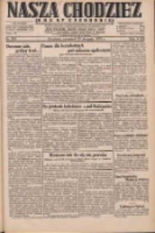 Nasza Chodzież: dziennik poświęcony obronie interesów narodowych na zachodnich ziemiach Polski 1931.08.20 R.9(2) Nr190