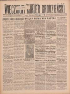 Wieczorny Kurjer Grodzieński 1932.11.09 R.1 Nr160