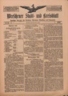 Wreschener Stadt und Kreisblatt: amtlicher Anzeiger für Wreschen, Miloslaw, Strzalkowo und Umgegend 1912.07.04 Nr79