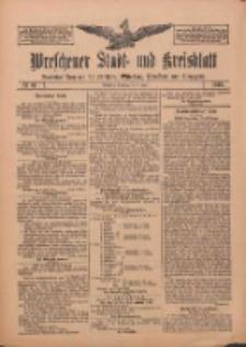 Wreschener Stadt und Kreisblatt: amtlicher Anzeiger für Wreschen, Miloslaw, Strzalkowo und Umgegend 1912.07.09 Nr81