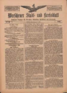 Wreschener Stadt und Kreisblatt: amtlicher Anzeiger für Wreschen, Miloslaw, Strzalkowo und Umgegend 1912.07.11 Nr82