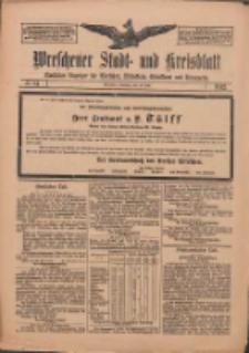 Wreschener Stadt und Kreisblatt: amtlicher Anzeiger für Wreschen, Miloslaw, Strzalkowo und Umgegend 1912.07.16 Nr84