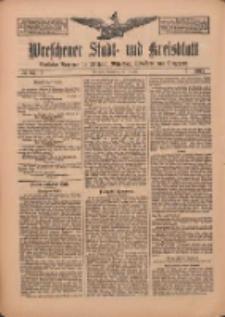 Wreschener Stadt und Kreisblatt: amtlicher Anzeiger für Wreschen, Miloslaw, Strzalkowo und Umgegend 1912.07.18 Nr85