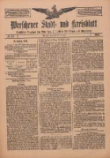 Wreschener Stadt und Kreisblatt: amtlicher Anzeiger für Wreschen, Miloslaw, Strzalkowo und Umgegend 1912.07.20 Nr86
