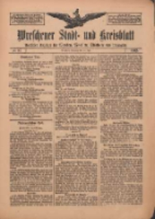 Wreschener Stadt und Kreisblatt: amtlicher Anzeiger für Wreschen, Miloslaw, Strzalkowo und Umgegend 1912.07.23 Nr87