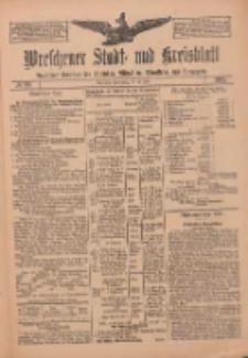 Wreschener Stadt und Kreisblatt: amtlicher Anzeiger für Wreschen, Miloslaw, Strzalkowo und Umgegend 1912.07.25 Nr88