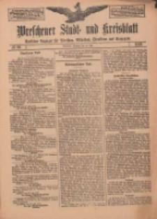 Wreschener Stadt und Kreisblatt: amtlicher Anzeiger für Wreschen, Miloslaw, Strzalkowo und Umgegend 1912.07.30 Nr90