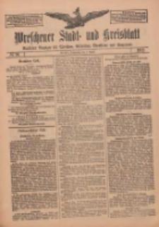 Wreschener Stadt und Kreisblatt: amtlicher Anzeiger für Wreschen, Miloslaw, Strzalkowo und Umgegend 1912.08.08 Nr94