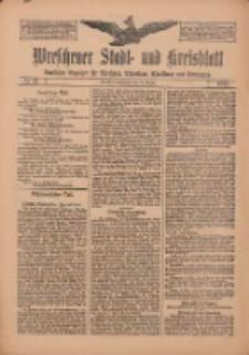 Wreschener Stadt und Kreisblatt: amtlicher Anzeiger für Wreschen, Miloslaw, Strzalkowo und Umgegend 1912.08.15 Nr97
