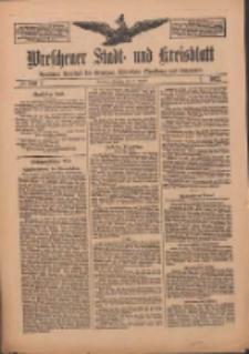 Wreschener Stadt und Kreisblatt: amtlicher Anzeiger für Wreschen, Miloslaw, Strzalkowo und Umgegend 1912.08.27 Nr102