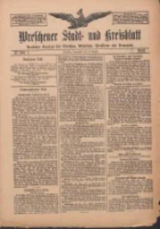 Wreschener Stadt und Kreisblatt: amtlicher Anzeiger für Wreschen, Miloslaw, Strzalkowo und Umgegend 1912.08.31 Nr104