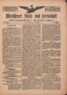 Wreschener Stadt und Kreisblatt: amtlicher Anzeiger für Wreschen, Miloslaw, Strzalkowo und Umgegend 1912.09.05 Nr106