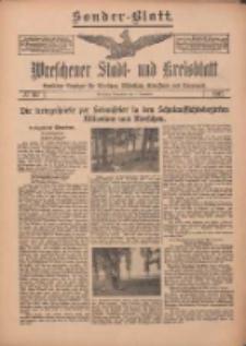 Wreschener Stadt und Kreisblatt: amtlicher Anzeiger für Wreschen, Miloslaw, Strzalkowo und Umgegend 1912.09.07 Nr107