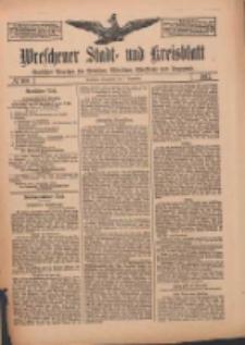 Wreschener Stadt und Kreisblatt: amtlicher Anzeiger für Wreschen, Miloslaw, Strzalkowo und Umgegend 1912.09.07 Nr108