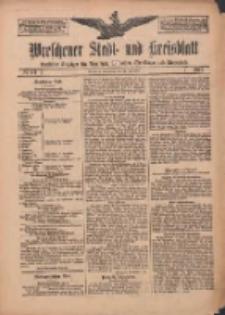 Wreschener Stadt und Kreisblatt: amtlicher Anzeiger für Wreschen, Miloslaw, Strzalkowo und Umgegend 1912.09.14 Nr111