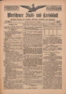 Wreschener Stadt und Kreisblatt: amtlicher Anzeiger für Wreschen, Miloslaw, Strzalkowo und Umgegend 1912.09.21 Nr114