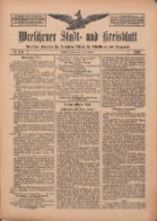 Wreschener Stadt und Kreisblatt: amtlicher Anzeiger für Wreschen, Miloslaw, Strzalkowo und Umgegend 1912.10.01 Nr118