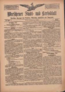 Wreschener Stadt und Kreisblatt: amtlicher Anzeiger für Wreschen, Miloslaw, Strzalkowo und Umgegend 1912.10.05 Nr120