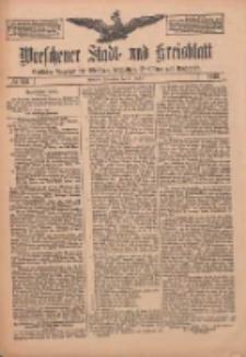 Wreschener Stadt und Kreisblatt: amtlicher Anzeiger für Wreschen, Miloslaw, Strzalkowo und Umgegend 1912.10.10 Nr122