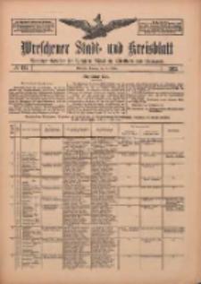 Wreschener Stadt und Kreisblatt: amtlicher Anzeiger für Wreschen, Miloslaw, Strzalkowo und Umgegend 1912.10.15 Nr124