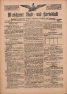 Wreschener Stadt und Kreisblatt: amtlicher Anzeiger für Wreschen, Miloslaw, Strzalkowo und Umgegend 1912.10.19 Nr126