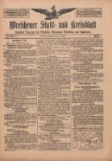 Wreschener Stadt und Kreisblatt: amtlicher Anzeiger für Wreschen, Miloslaw, Strzalkowo und Umgegend 1912.10.24 Nr128