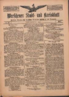 Wreschener Stadt und Kreisblatt: amtlicher Anzeiger für Wreschen, Miloslaw, Strzalkowo und Umgegend 1912.10.31 Nr131