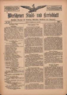 Wreschener Stadt und Kreisblatt: amtlicher Anzeiger für Wreschen, Miloslaw, Strzalkowo und Umgegend 1912.11.09 Nr135