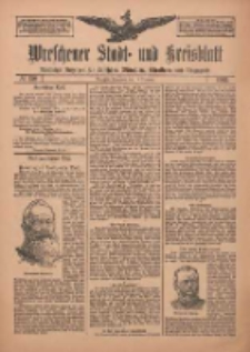 Wreschener Stadt und Kreisblatt: amtlicher Anzeiger für Wreschen, Miloslaw, Strzalkowo und Umgegend 1912.12.14 Nr150